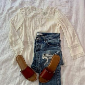 Point Sur | J. Crew Lacey Top